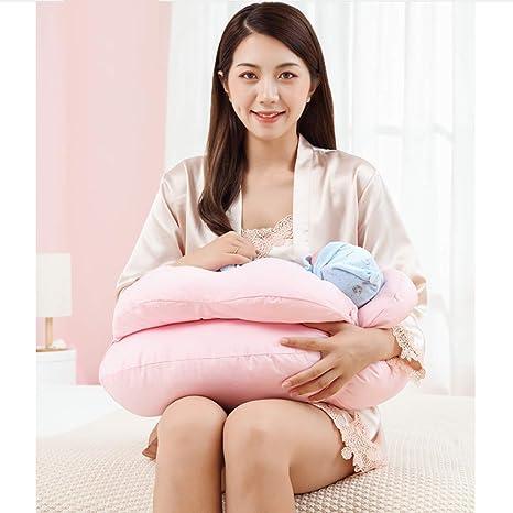 LTSWEET Cojín Lactancia Bebé Almohadas para Lactancia Ergonómico ...