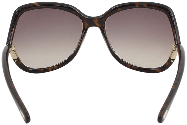 721ae06fbec Amazon.com  Tom Ford FT0578 52F Dark Havana Anouk Square Sunglasses Lens  Category 2 Size 60  Tom Ford  Clothing