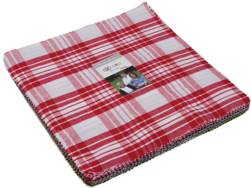 Oxford Wovens Layer Cake 42 10-inch Squares by Sweetwater for Moda Fabrics 5715LC