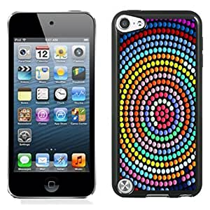 New Personalized Custom Designed For iPod Touch 5th Phone Case For Colorful Abstract Centrifugal Dots Phone Case Cover