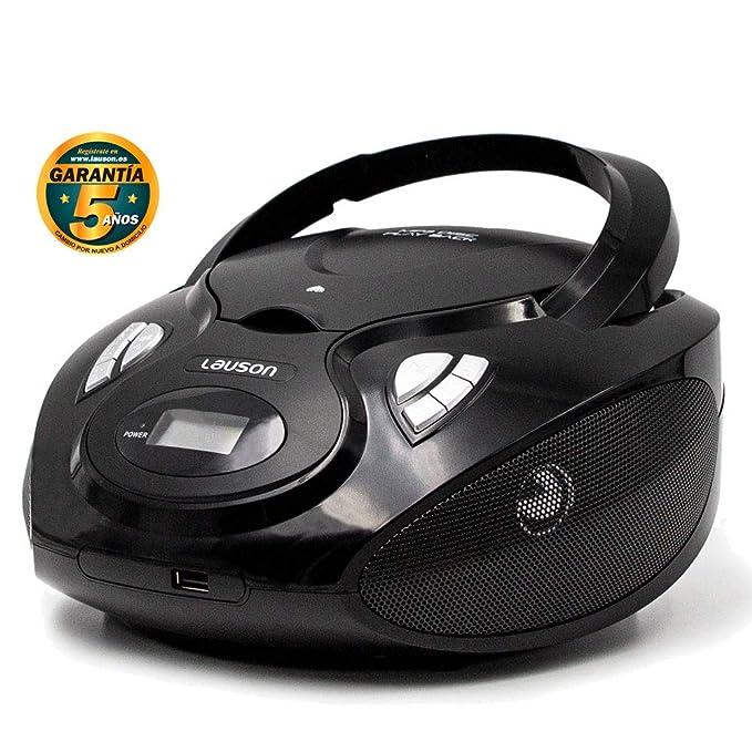 19 opinioni per Lauson CP635 Lettore Cd Portatile   USB   Bambini Radio   Stereo Radio FM  