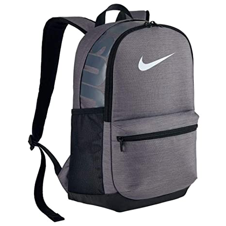 e67f1b3d887 Image Unavailable. Image not available for. Colour  Nike Unisex Grey  Printed Brasilia Medium Training Laptop Backpack