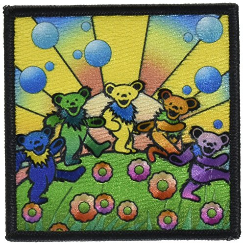 Application Grateful Dead Bears Utopia Patch