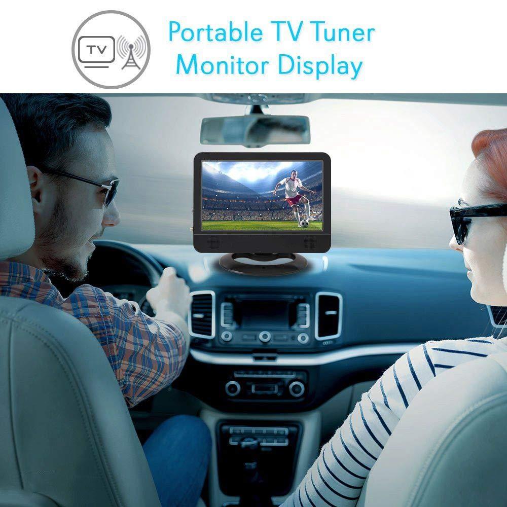Televisor Portátil de 9,5 Pulgadas, Mini ángulo de Visión Amplio ...