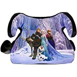 KidsEmbrace Disney Frozen Backless Booster Car Seat with Seatbelt Positioning Clip, Elsa, Anna, Olaf and Kristoff