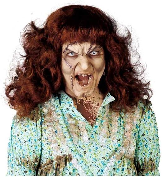 Zombi exorcista peluca: Amazon.es: Juguetes y juegos