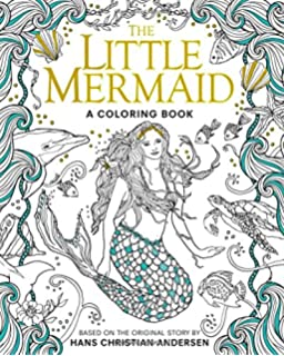 The Little Mermaid A Coloring Book Classic