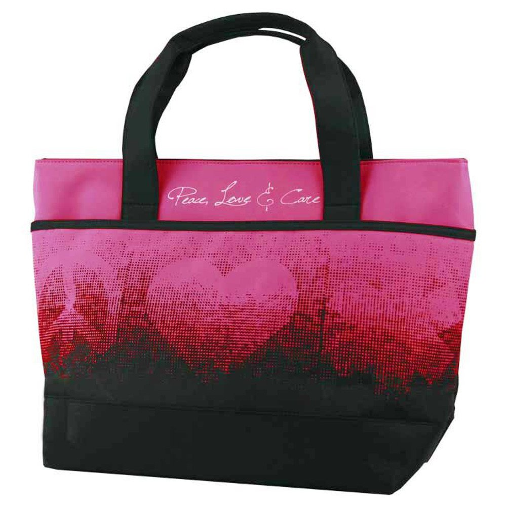 Think Medical Womens Peace Love Care Tote Bery