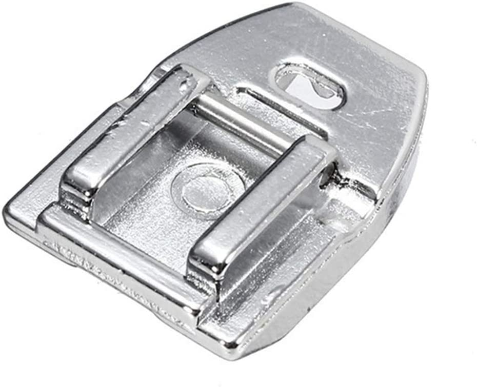Concealed Invisible Zipper Foot -Fits All Low Shank Snap-On Singer, Brother, Babylock, Euro-Pro, Janome, Kenmore, White, Juki, New Home, Simplicity, Elna and More