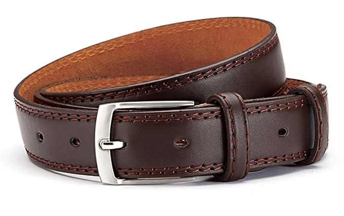 Hombre Traje Cinturón Elegante Piel Sintética - Cinturón para ...
