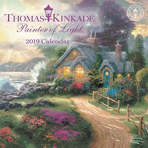 Book cover from Thomas Kinkade Painter of Light 2019 Mini Wall Calendar by Thomas Kinkade