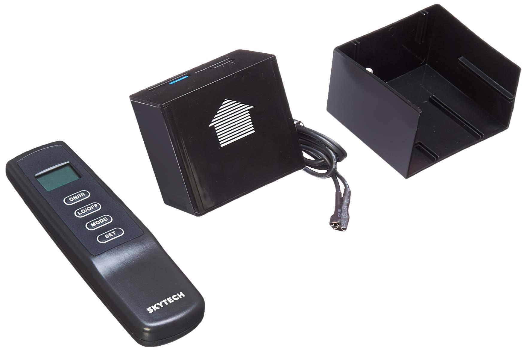 SkyTech Sky-MRCK-TH Fireplace-remotes-and-thermostats, Black by SkyTech