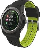 Mediacom - Smartwatch v100 orologio gps impermeabile cardio e contapassi bluetooth per ios e android - italia