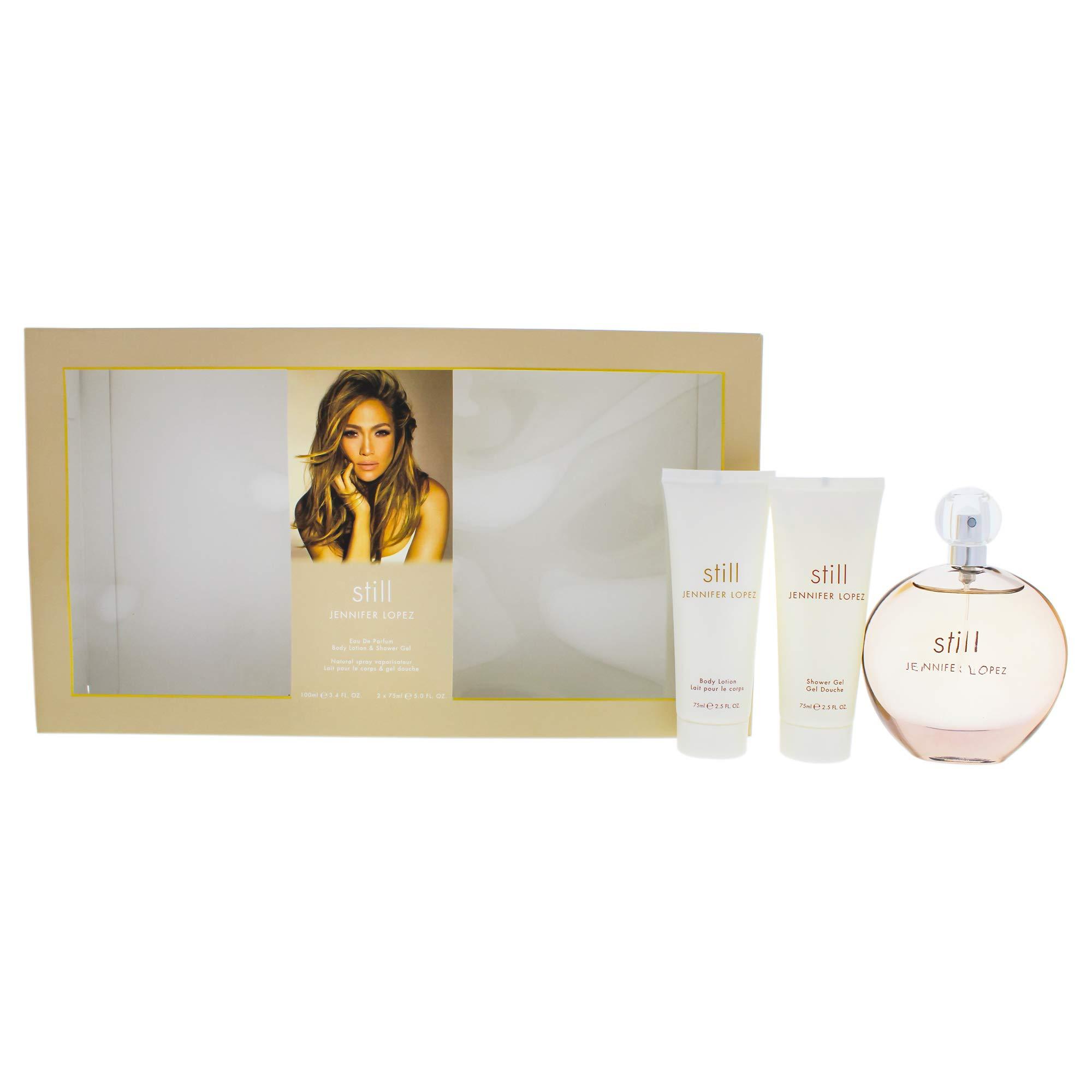 Jennifer Lopez Still By Jennifer Lopez for Women - 3 Pc Gift Set 3.4oz Edp Spray, 2.5oz Body Lotion, 2.5oz Shower Gel, 3count by Jennifer Lopez