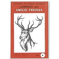 Lecciones de Dibujo Artístico. Láminas por Emilio Freixas Serie 4