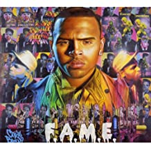 Chris Brown Poster by Silk Printing # Size about (67cm x 60cm, 27inch x 24inch) # Unique Gift # 1A099F