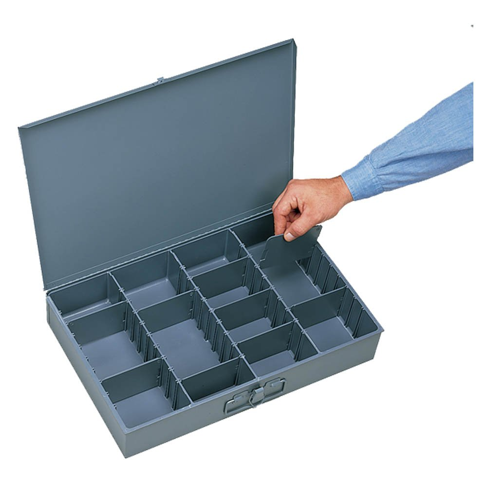 Parker ADJ-CB Bin and Cabinet, Adjustable, 3'' Height, 18'' Width, 12'' Length