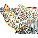 Crocnfrog 2-in-1 Shopping Cart & High Chair Cover for Baby! Free e-Book included!