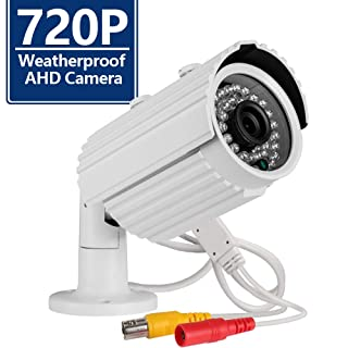 Security Camera CANAVIS AHD CCTV Camera 720P 36PCS IR-LEDs 2.8mm Lens with IR Cut Home Security Day/Night Waterproof CCTV Camera- 100ft IR Distance,Indoor/Outdoor (2.8mm 1pack)