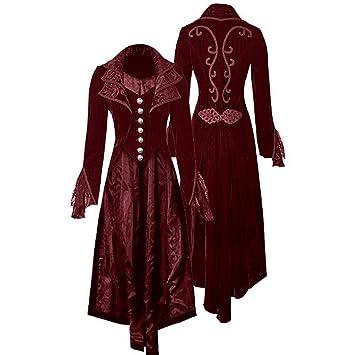 De Fanessy Manteau Costume Femme Médiévale À Déguisement Halloween EHDI29