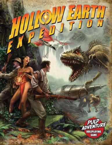 Hollow Earth Expedition RPG (EGS1000) (Indiana Jones And The Search For Atlantis)