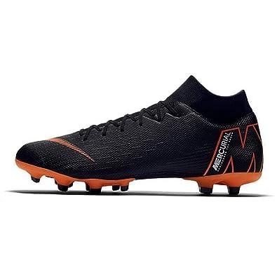 1f73fa80 Nike Herren Mercurial Superfly VI Academy MG Fußballschuhe, Schwarz  (Black/Total Orange-