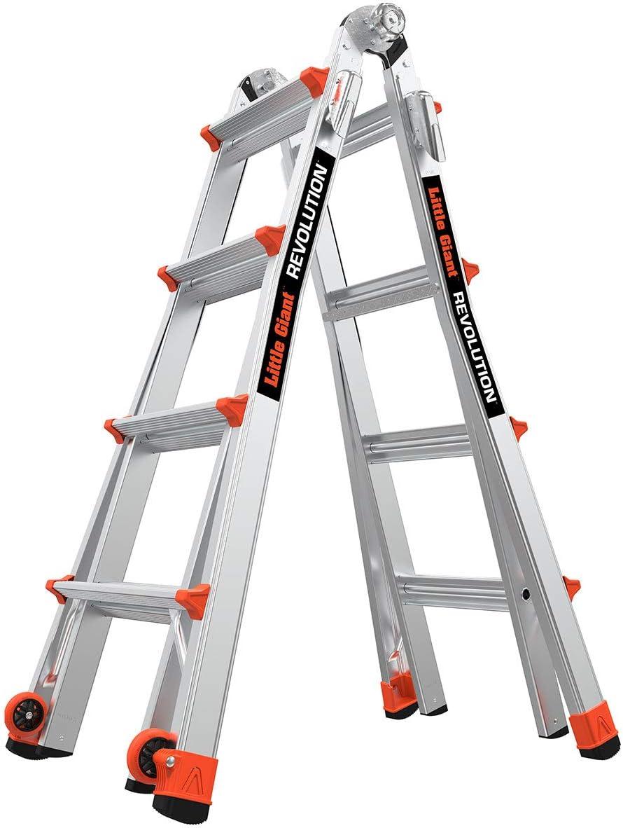 Little Giant Revolution XE Industrial Ladder Aerospace Grade Aluminium