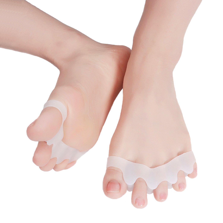 Gel Hammer Toe Straightener Separators Pedicure for Bunions