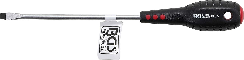 Slot SL 5.5 mm BGS 7932 Blade Length 125 mm Screwdriver