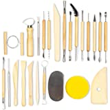 Herramientas para esculpir arcilla para arte y manualidades (24 piezas)