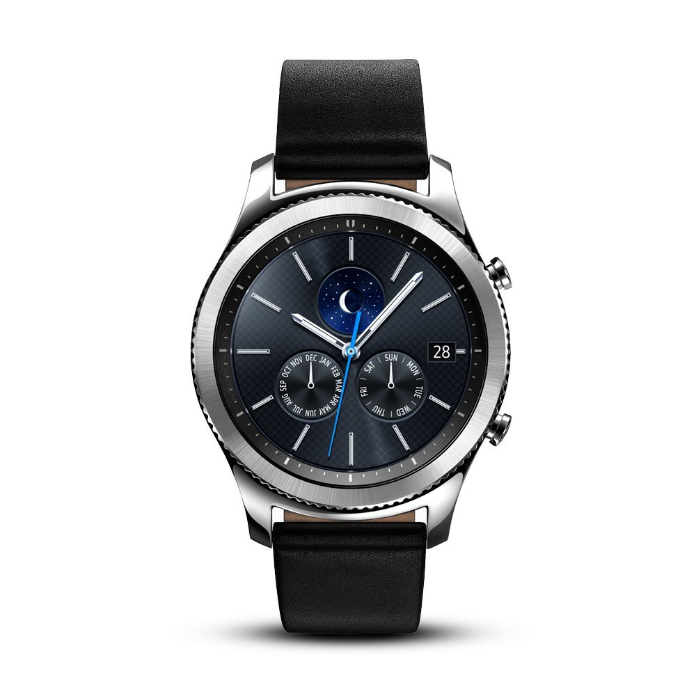 Samsung Gear S3 Classic Smartwatch (Bluetooth), SM-R770NZSAXAR US Version with Warranty (Renewed) by Samsung