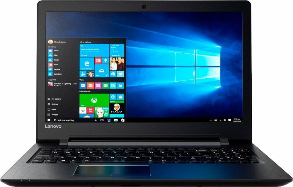 2017 Lenovo 15.6-inch High Performance HD WLED Laptop, AMD Quad-Core A6-7310 Processor 2GHz, 4GB DDR3, 500GB HDD, AMD Radeon R4 Graphics, SuperMulti DVD burner, HDMI, Windows 10 Home 64bit by Lenovo