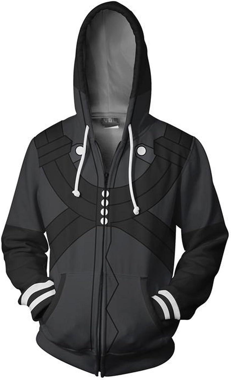 Anime Tokyo Ghoul Kaneki Ken Hoodies Cosplay Costume Zipper Hooded Jacket Coat