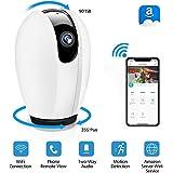 Telecamera Wi-Fi senza fili,DIGOO 720P Camera IP 2.4G Videocamera di Sorveglianza Wireless Interno,Audio Bidirezionale,Modalità Notturna a Infrarossi, IP Cam Wifi Compatibile con iOS e Android e PC
