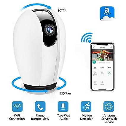 Cámara IP, DIGOO Camaras de Vigilancia WiFi Interior HD 720P P2P con IR Visión Nocturna