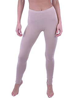 4d855902c50 Vivian s Fashions Extra Long Leggings - Cotton (Junior and Junior Plus  Sizes)
