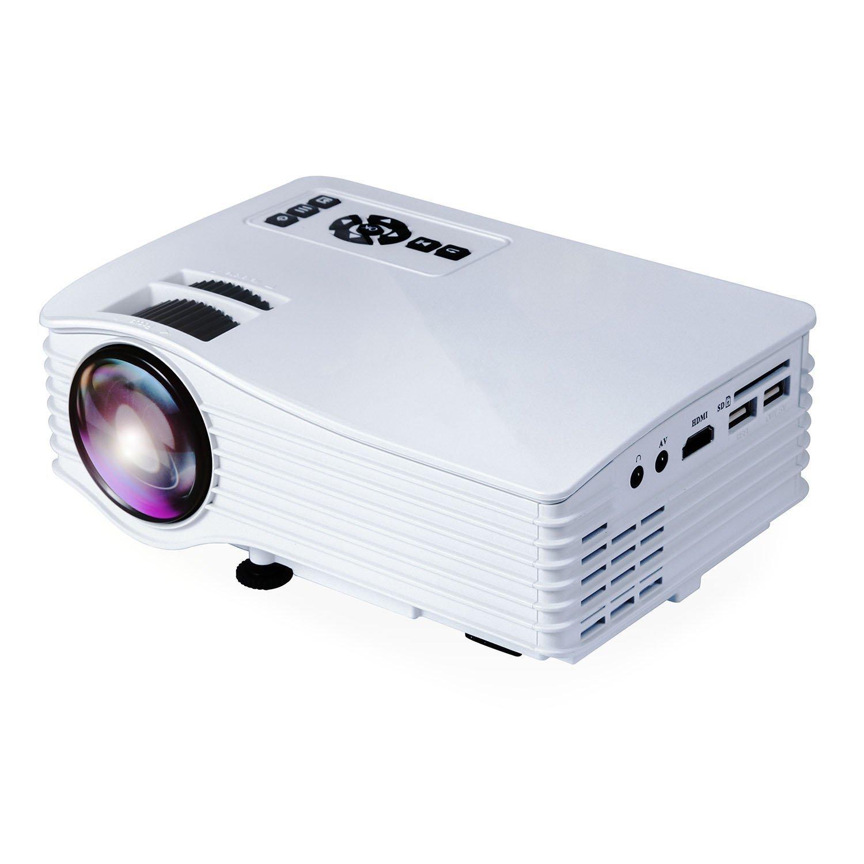 Videoproyector Deeplee LCD LED Mini Proyector Home Cinema Portátil Multimedia cine casa