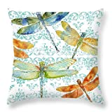 Dragonfly Bliss 3D Print Pillowcase 20x20(two sides)
