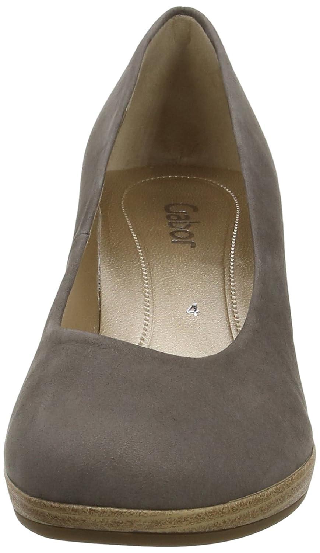 GABOR 61.460 Damen Sneaker Gold Schuhe in Übergrößen