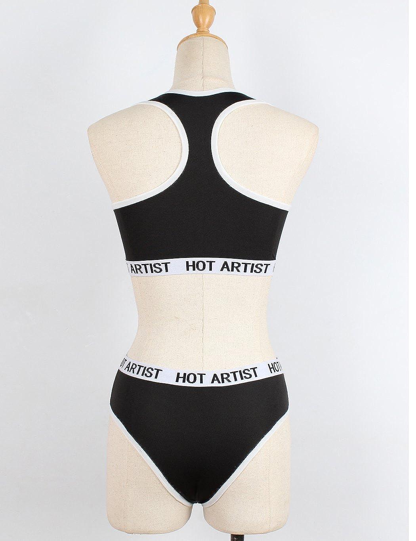 Befied Mujer Sujetador Deporte sin Costura Cruzados Espalda para ...