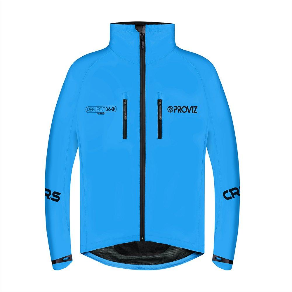 Provizメンズreflect360 CRS (Colour反映システム) サイクリングジャケット B06XXN15HL Small|ブルー ブルー Small