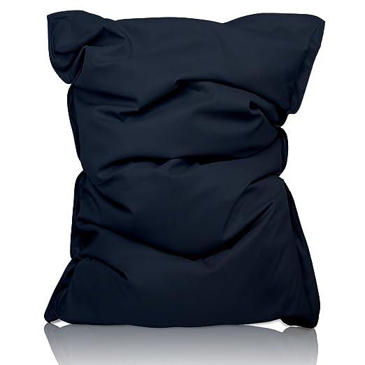 215 opinioni per Lumaland Luxury Poltrona Sacco XXL Pouf Puff ultra morbido in Cotone riempimento