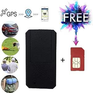 TKSTAR Mini GPS Tracker con Tarjeta SIM Gratuita portátil ...