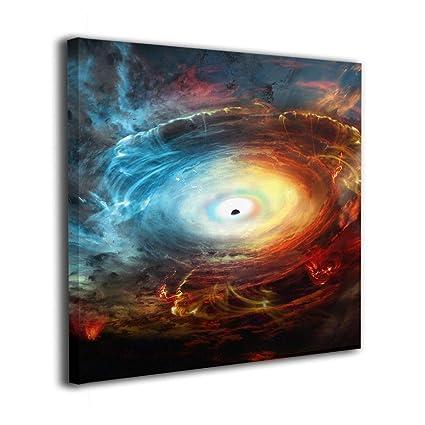 Amazon com: Mintslove Black Hole Event Horizon Colorful