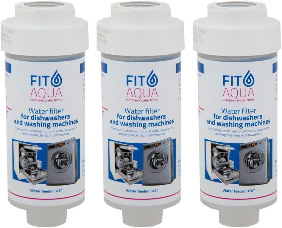 FIT Aqua AC de WSM AM I de Juego de 2 x lavadora filtro antical ...