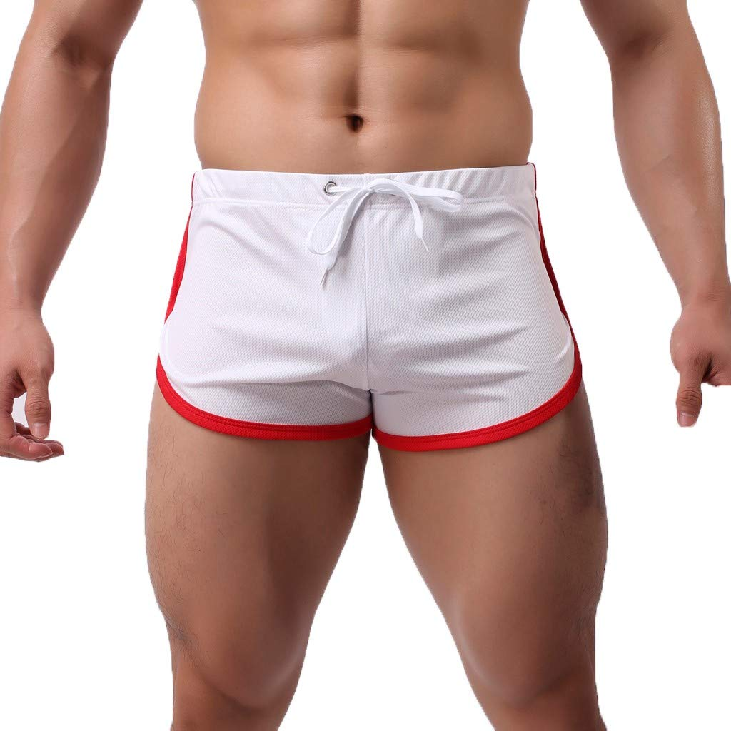 Men's Summer Sports Shorts Fast-Drying Casual Flatpants Drawstring Shorts