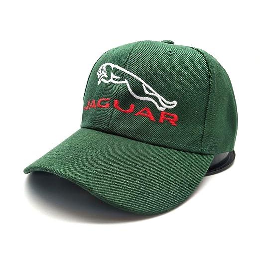 fc2e152a Amazon.com: Adjustable Adult Dad Hat Jaguar Car Logo Embroidered ...