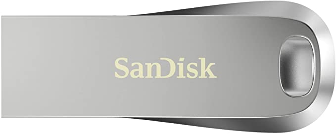 TALLA 128GB. SanDisk Ultra Luxe, Memoria flash USB 3.1 de 128GB y hasta 150 MB/s de Velocidad