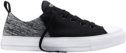 dddcff50def7 Converse All Star Abbey Ox - Womens Womens Skateboarding-Shoes 553276C 8 -  Black Mouse
