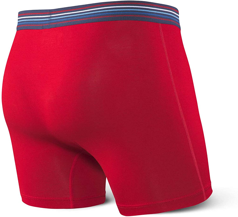 Ultra Boxer Briefs with Fly and Built-in Ballpark Pouch Support Underwear for Men Saxx Underwear Mens Boxer Briefs